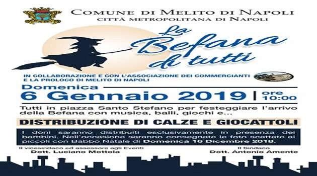 Melito - La Befana di Tutti 2019