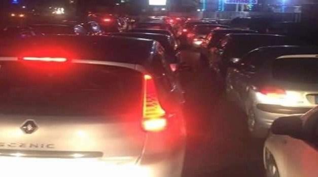 Code sulla Tangenziale di Napoli per incidente stradale