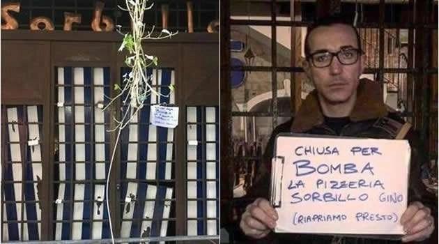 Napoli - bomba Pizzeria Sorbillo