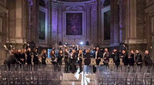 Scampia - concerto nella chiesa di San Giuseppe Moscati