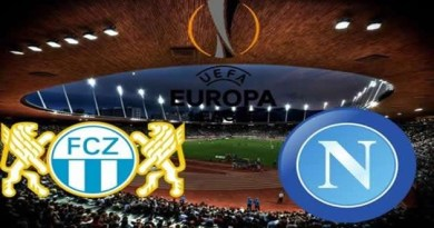 Europa League - Zurigo vs Napoli