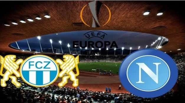 Il Napoli ipoteca la qualificazione: battuto Lo Zurigo  3-1