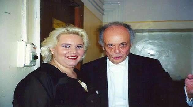 Con Il M° Lorin Maazel
