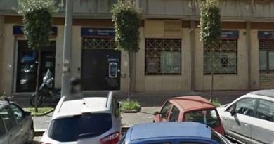 Melito - svaligiata banca popolare di Ancona