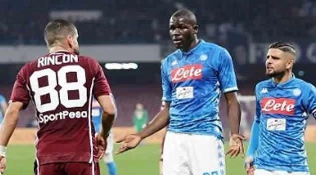 Napoli vs Torino - Koulibaly e Insigne