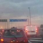 Incidente sull'Asse Mediano tra Melito e Villaricca. Traffico praticamente paralizzato