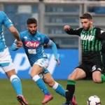 Napoli sottotono viene bloccato dal Sassuolo: al Mapei Stadium è 1-1