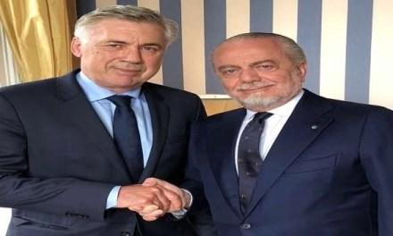 Ancelotti alla Ferguson: conferme da parte del presidente De Laurentis