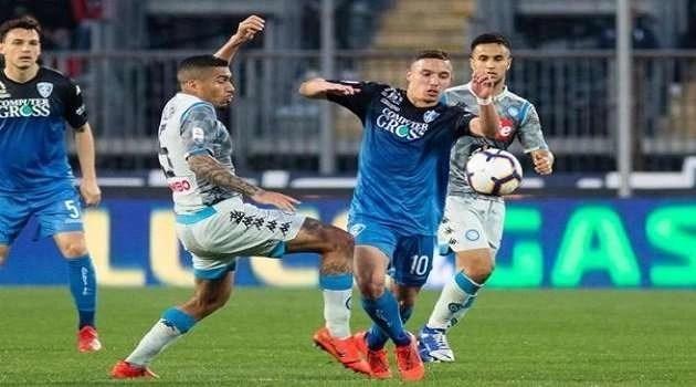 Un Empoli più deciso ha la meglio su un Napoli sottotono: al Castellani finisce 2-1
