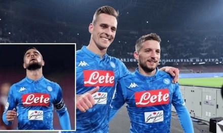 Formazione del Napoli contro il Chievo: tutto l'attacco titolare come prova generale per giovedì?