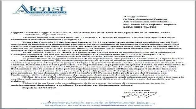 DOCUMENTO AICAST ORIGINALE