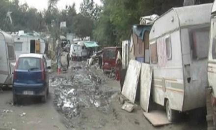 Giugliano: ancora controlli al campo rom, sequestrati alcuni mezzi