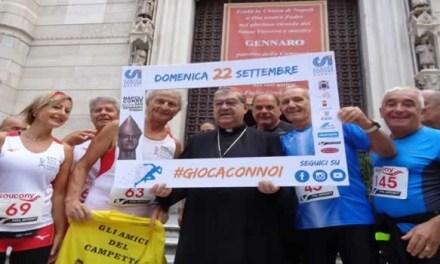 """Sepe benedice """"Napoli corre per S. Gennaro"""""""