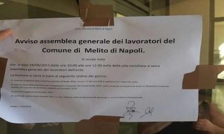 Comune chiuso per assemblea dipendenti