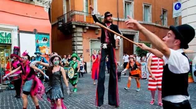 Napoli - artisti di strada