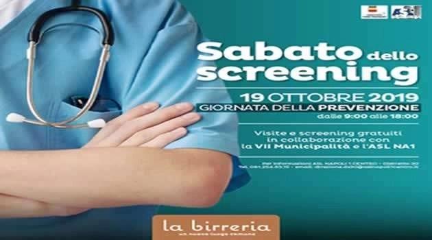 Centro La Birreria. Sabato della prevenzione con ASL NA1
