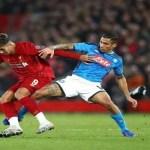 Napoli che sfiora l'impresa: ad Anfield termina 1-1