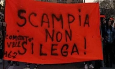 Scampia non si lega. L'urlo dei manifestanti di Scampia