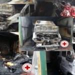Ambulanza carbonizzata. Le cause restano sconosciute