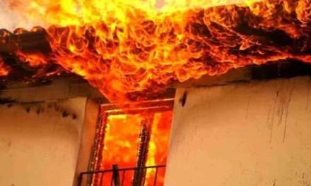 Scoppia un incendio nell'abitazione: Willy salva il suo padrone