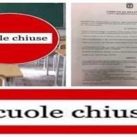 Domani scuole chiuse a Melito, il sindaco firma l'ordinanza