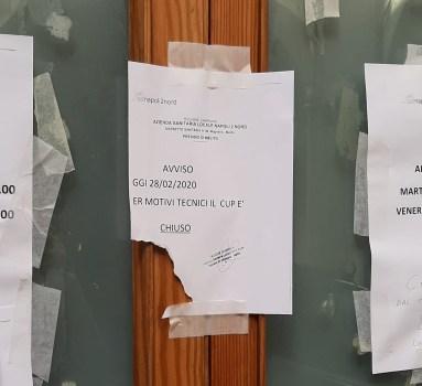 Disagi all'ASL di Melito, CUP chiuso da una settimana