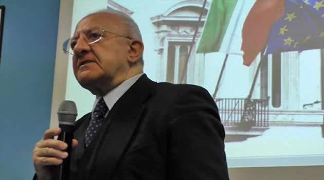 """Coronavirus, dichiarazione del Presidente Vincenzo De Luca:""""E' necessario in queste ore il massimo di responsabilità"""""""