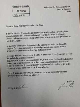 proposta Vincenzo Costa