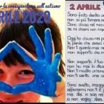Mani blu per la Gionata mondiale per la consapevolezza sull'autismo