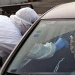 Laboratori mobili e test drive-in: tampone dal finestrino dell'auto