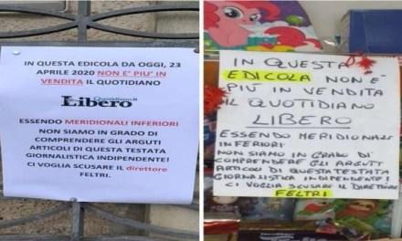 Le edicole napoletane non vendono più il giornale di Feltri