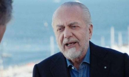 +++Ultim'ora: il presidente del Napoli De Laurentiis è positivo al covid-19+++