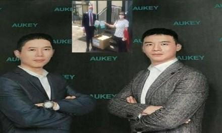 Emergenza Covid-19, due imprenditori cinesi donano al Comune mille mascherine FFP2