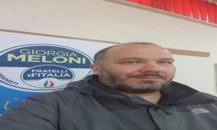 """Vincenzo Stravolo:""""Le ragioni di una scelta"""" lascia Fratelli D'Italia"""