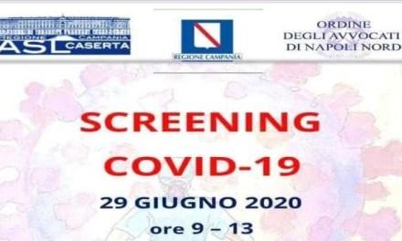 Test sierologico per tutti gli avvocati dell'area nord di Napoli