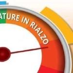 Meteo, stop al freddo: temperature in rialzo