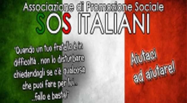 Oscurata la pagina SOS Italiani