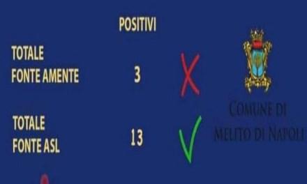 """Melito. Rinaldi accusa: """"Dati Covid omessi"""", Amente smentisce ma rilancia"""