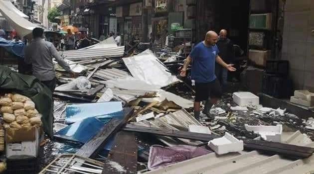 Napoli – Cronaca. Violentissimo temporale sulla città, tragedie sfiorate