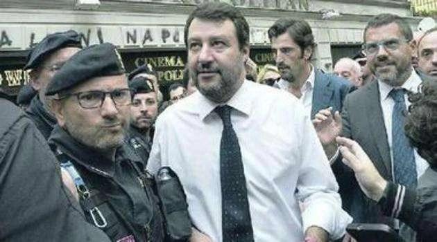 """Campania, Salvini: """"Le Regionali qui?Risultati sorprendenti"""""""