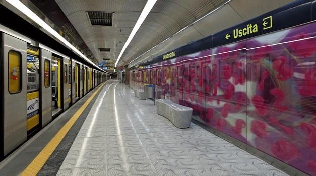 Molestie e violenza in metropolitana