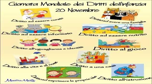 Giornata Mondiale dei diritti dell'infanzia. Preserviamo gli adulti del domani