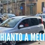 Grave incidente a Melito. Ferito un motociclista
