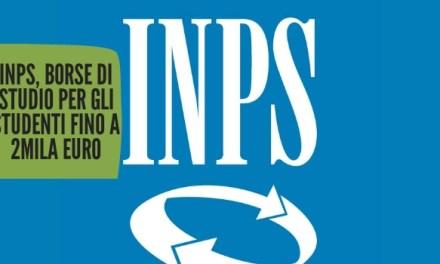 Inps, borse di studio per gli studenti fino a 2mila euro