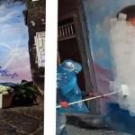 Napoli, cronaca Cancellato il murales del baby rapinatore