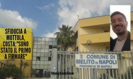 """Sfiducia a Mottola, Costa:""""Sono stato il primo a firmare"""""""