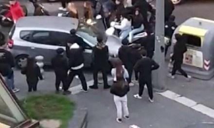 Napoli, cronaca Violenza urbana tra quattordicenni a Materdei