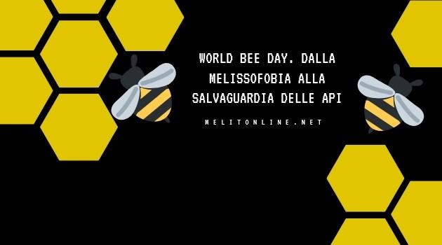 Word bee day. Dalla melissofobia alla salvaguardia delle api