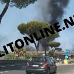 Rogo tra Melito e Mugnano: nube nera inghiotte circumvallazione e asse mediano