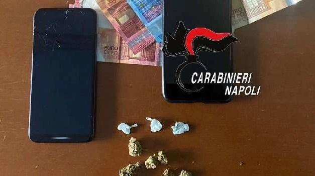 Napoli, cronaca Cocaina nella mascherina, un arresto a Secondigliano